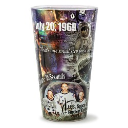 Apollo 11 Collage Pint Glas