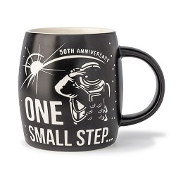 One Small Step Barrel Mug