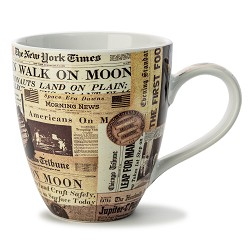 Newspaper Art Mug