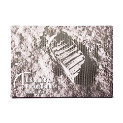 Footprint Canvas Magnet