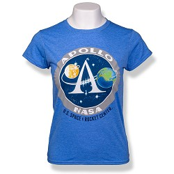 Apollo Emblem Ladies T-Shirt