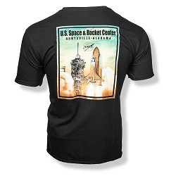 Ancient Atlantis Launch T-Shirt