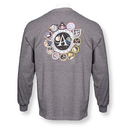 Apollo Patches Long Sleeve T-Shirt