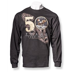 50 Years Apollo Long Sleeve T-Shirt