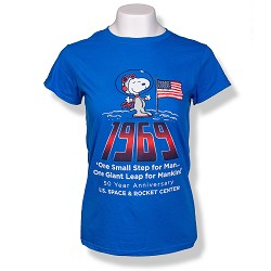 1969  Peanuts Ladies T-Shirt