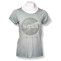 Raw Edge NASA Vector Ladies T-Shirt