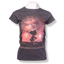 Moon Walker Peanuts Ladies T-Shirt
