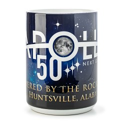 Powered by Rocket City 15oz Mug