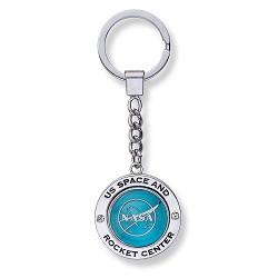 NASA Vector Spinner Keychain