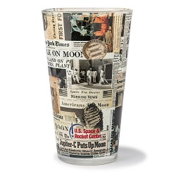 Newspaper Pint Glass