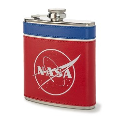 NASA Red White and Blue Flask