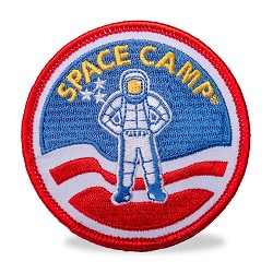 Space Camp Patch Magnet