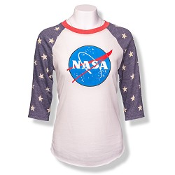 NASA Star 3/4 Sleeve T-Shirt