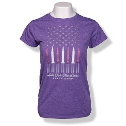 Aim for Space Camp Jrs T-Shirt