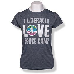 Literally Space Camp Jrs T-Shirt