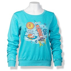 Ramblin' Space Crewneck Pullover