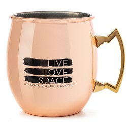 Young, Wild, & Free Moscow Mule Copper Mug