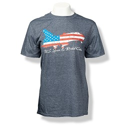 Patriotic Shuttle Euro-Fit Men's T-Shirt