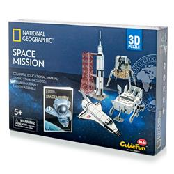 Space Mission w/Booklet 80pc
