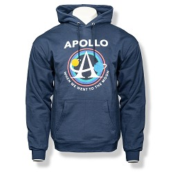 Apollo Logo Pullover Hoodie NAVY AS