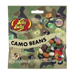 Camo Beans Jelly Belly,42830