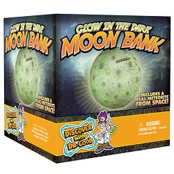 Glow in the Dark Moon Bank