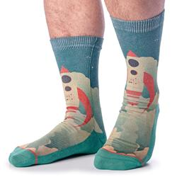 Rocket Ship Socks