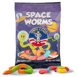 Space Camp Gummy Worms