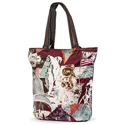 Astronaut Moon Walker Tote Size Bag