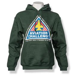 Aviation Challenge Hoodie GREEN AS