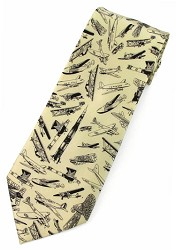 Aviation Classic Aircraft Tie