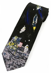 Man on the Moon Tie