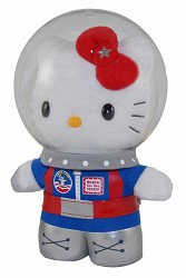 Hello Kitty S/C Plush,SPACECAMP