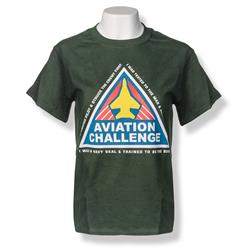 Aviation Challenge Tee GREEN YL