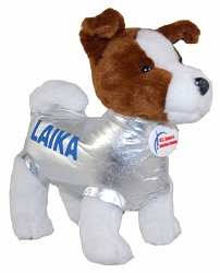 Space Dog Laika - Plush,112600HSR