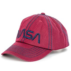 NASA Worm Thick Stitch Cap,NASA,26750
