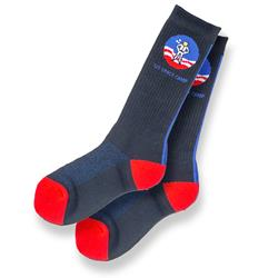 Space Camp Veritical Stripe Socks