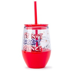 Not Rocket Science 14 oz Double  Wall Tumbler,NOT ROCKET SCIENCE,DNK309 IMP