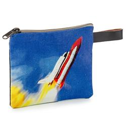 Space Shuttle Pouch Size Bag,7353