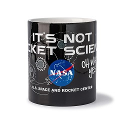 It's Not Rocket Science Mug,NOT ROCKET SCIENCE,CER450 DOM