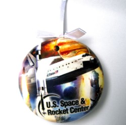 Space History Ornament