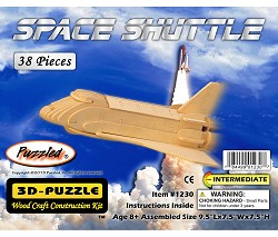 Space Shuttle 3D Wooden Puzzle
