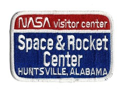 NASA Visitor Center Patch