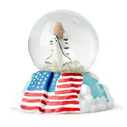 Shuttle with Flag Waterball