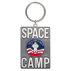 Space Camp Metal Keychain