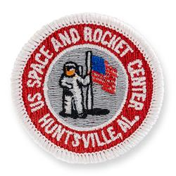 Astronaut & Flag Patch