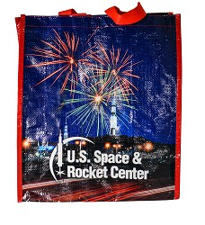 Rocket Center Shopping Tote,18/9380