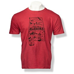 Alabama State Design Tee