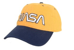NASA Worm Two-Tone Pigment Washed Cap